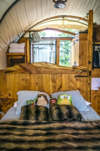 A perfect sleeping accommodation for two